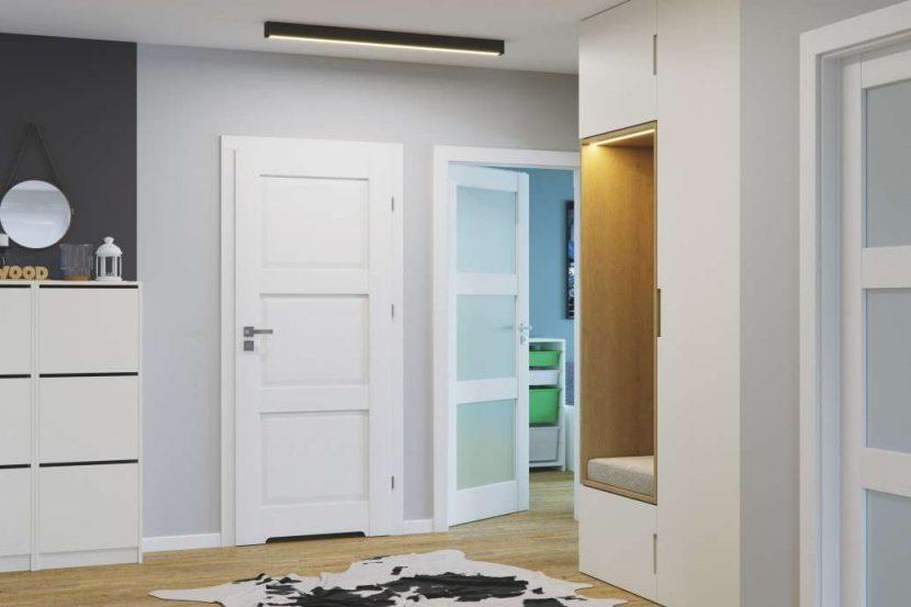 drzwi wewnetrzne malowane